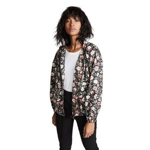 La Vie Rebecca Taylor Rose Hooded Cotton Jacket S